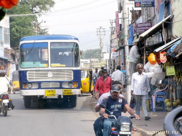 На улицах Индии